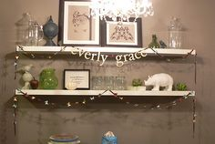 Everly Grace baby shower banner by JMC Creations, via Flickr