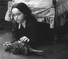 I always wanted to be Wednesday Addams....Christina Ricci style.