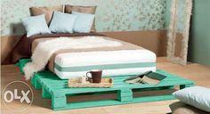 Изготовление мебели из поддонов паллет Кровать Тумбочка Подставка Киев - изображение 3
