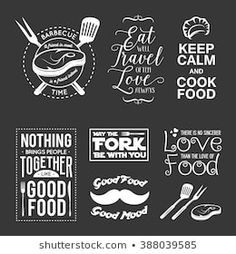 Find Set Vintage Food Related Typographic Quotes stock images in HD and millions of other royalty-free stock photos, illustrations and vectors in the Shutterstock collection. Vintage Recipes, Vintage Food, Typography Design, Lettering, Smartphone, Its Friday Quotes, Printable Designs, Love People, Good Mood