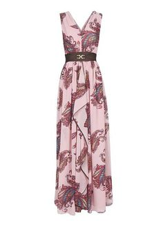 MANGO - Paisley print gown