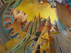 Tomek Sętowski, 1961 ~ Polish Surrealists painter   Tutt'Art@   Pittura * Scultura * Poesia * Musica  