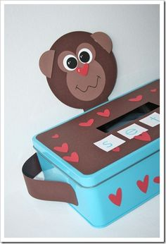 Monkey Valentine box