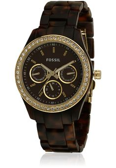 18b777a68 Buy Fossil Es2795 Brown Analog Watch Online - 3318156 - Jabong