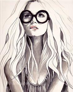 #Drawing big glasses