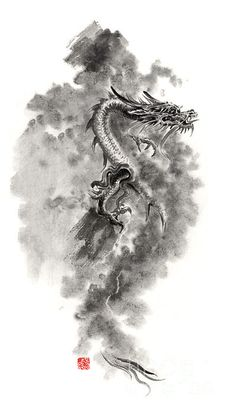 Dragons  - paintings and prints for sale.