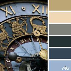 Clock Color Palette