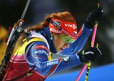 Gabriela Soukalová Nordic Skiing, Dynamic Poses, Nordic Design, Winter Sports, Sports Women, A3, Cool Girl, Sportswear, Female