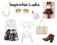"""Inspiration #3 go follow my besties !! @sophiehiggins2003 and @bellarutenberg"" by selene-hinteregger ❤ liked on Polyvore featuring мода, Alexander McQueen, Soda, MICHAEL Michael Kors, Forever 21, Ray-Ban, HoneyBee Gardens, women's clothing, women и female"