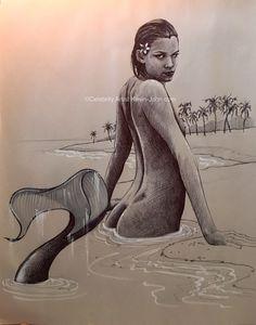 Mermaid - by Artist Kevin-John Jobczynski