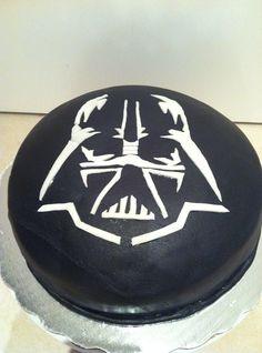 Darth Vader Happy Birthday Cake Darth vader cake