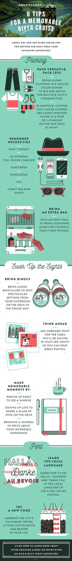 What To Pack For A River Cruise European Vacation Pinterest - 8 tips on how to pack light for your next vacation