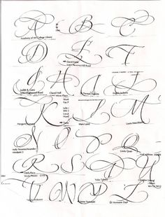 Caligraphy Alphabet Discover pushing the envelopes: whose lettering is this? Calligraphy Letters, Typography Letters, Modern Calligraphy, Caligraphy E, Flourish Calligraphy, Copperplate Calligraphy, Handwritten Letters, Creative Lettering, Lettering Styles