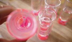 DIY colored glass using nail polish-8