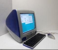 iMac G3 M4984 Tray loading Grape w/ Orig Keyboard & Special Hoc