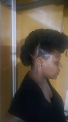 Mohawk  natural  protective style