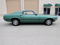 1969 FORD MUSTANG MACH 1 428 SCJ FASTBACK - Side Profile - 125745