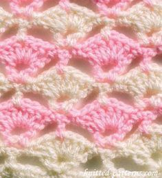 Floating Shells - Crochet Stitches - free pattern