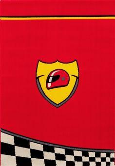 Παιδικό χαλί Champion AKS-7666 Champion, Ferrari Logo, Box, Symbols, Letters, Logos, Kids Room Furniture, Carpets, Snare Drum