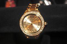 Gold Crown watch by #premierdesigns