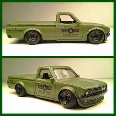 Hot Wheels Custom Datsun 620