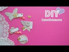 Easy How to Do - Shaker Embellishments | Shaker | Beads and Sequins | Tutorials - YouTube
