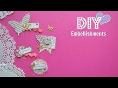 Diy Embellishments - Build Your Stash #12 - YouTube