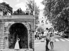 Agatka i Adam - sesja ślubna w Rzymie, Fotografia: Joanna Nowak - Photo Shine Fotografia