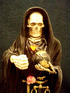 1000 images about la santa on pinterest santa muerte - Santa muerte signification ...