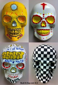 Skull-A-Day: Ceramic Skulls