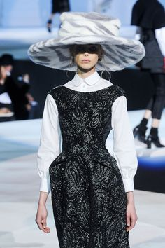 Marc Jacobs Fall 2012 - other than the hat, this is pretty CorpGothable