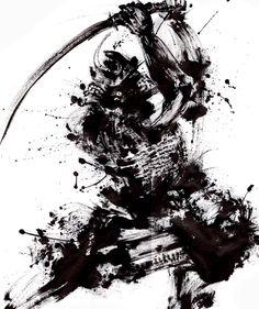 Samurai Bushido by PaleDreams Ronin Samurai, Samurai Warrior, Samurai Tattoo, Ninja Kunst, Japanese Art Samurai, Phenix Tattoo, Horse Tattoo Design, Samurai Artwork, Ninja Art