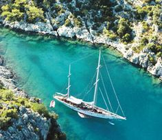 Gocek is blessed with a magnificent scenery.   Backed by majestic mountains and substantial pine forests it looks out over the Twelve Islands