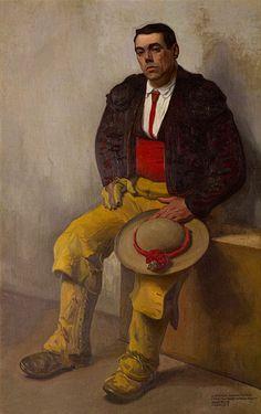 All things Mexico. Diego Rivera - The picador, 1909 - museodoloresolmedo