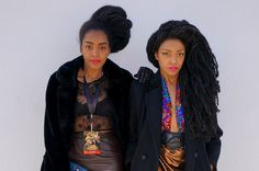 Such a fierce look on the UrbanBushBabes!
