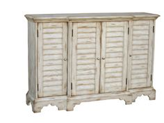 Accent Console Chest in Weathered White | Pulaski | Home Gallery Stores