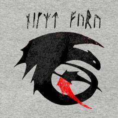 Night Fury T-Shirt Close Up