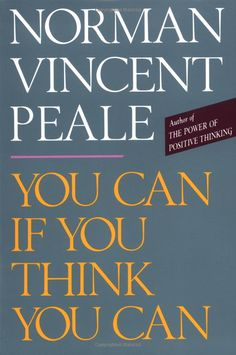 Have always loved reading Norman Vincent Peale books - This book is no exception! This book helps you to start thinking in a more positive manner.