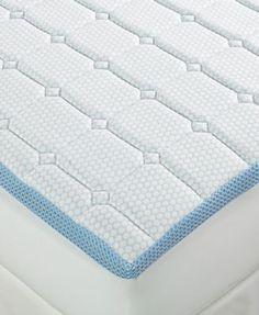 "SensorGel 3"" Quilted Memory Foam King Mattress Topper"