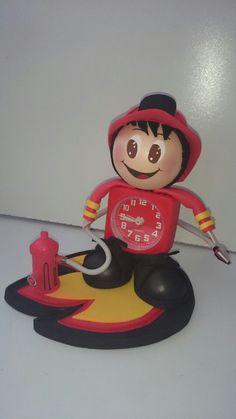 Fofucha reloj bombero