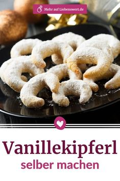 Vanilla Kipferl: With these tips you are guaranteed success lovable - Van . - Vanilla Kipferl: With these tips you are guaranteed to have success lovable – vanilla cookies are - Vanilla Biscuits, Vanilla Cookies, Best Chocolate Chip Cookie, Chocolate Crinkles, Sausage Recipes, Meat Recipes, Croissants, Brownie Recipes, Cookie Recipes