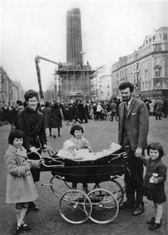Nelson's Pillar after it was blown up Dublin Ireland Pubs, Ireland Homes, Ireland Travel, Ireland Pictures, Old Pictures, Old Photos, Vintage Photos, Dublin City, Dublin Street