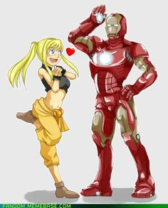 devinthecool's Iron Man and Full Metal Alchemist crossover. Neat!