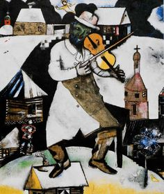 Le Violoniste 1912-1913 Marc Chagall