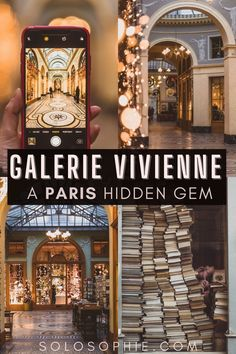 Galerie Vivienne, A Covered Passage in the 2nd Arrondissement, Paris, France