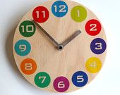 Objectify Multicolor Dot Wall Clock - Medium Size