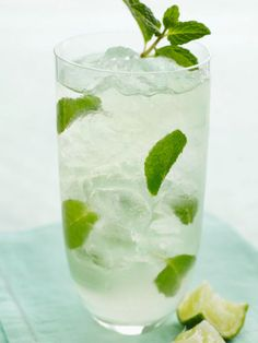 2 oz light or silver rum (Cruzan, Bacardi and 10 Cane rum are all good choices) 1 oz lime juice (must use fresh-squeezed) 1 oz simple syrup 10 mint leaves Splash of club soda or sparkling water Directions: Combine mint leaves, lime juice and simple syrup in a tall Collins glass. Muddle lightly (just enough to bruise the leaves, not pulverize them.) Add rum. Top with crushed ice. Add a splash of club soda and stir well. Simple Syrup: 1 part water: 1 part white sugar. Combine sugar and water…