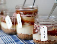 No-Bake Caramel Cheesecake in a Mason Jar Recipe