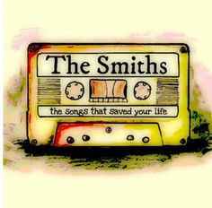 The Smiths — the songs that saved your life | drawing by unknown artist (via Google).