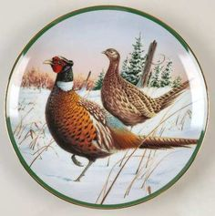 Hamilton CollectionNorth American Game Birds: Ring-Necked Pheasant - Artist: J. Killen